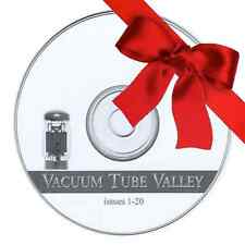 Vacuum Tube Valley VTV Issues 1-20 (Comp. Set). High Quality Scans in PDF on CD