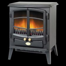 Dimplex TNG20R Tango 2000W Traditional Cast Iron Style Electric Stove in Black