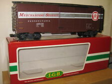 LGB # 46915 Pennsylvania Steelside Box Car G Gauge Factory New .
