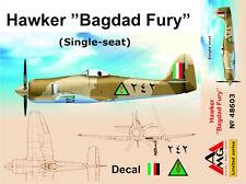"""AMG 1/48 MODELLO KIT 48603 HAWKER SEA FURY """"BAGDAD FURY"""" (SINGLE-SEAT) RIAF"""