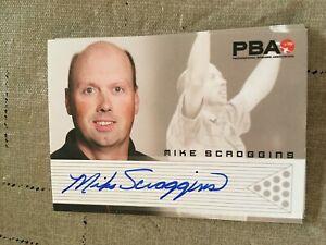 2007 PBA Bowling Autograph Mike Scroggins