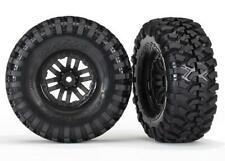 TRAXXAS Tires and wheels, assembled (TRX-4 wheels, Canyon Trail 1.9 (TRX8272)