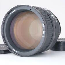 """""""Near Mint"""" Nikon AF NIKKOR 85mm f/1.4 D Prime Lens Shipping from Japan 204385"""