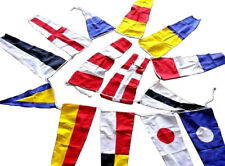 MARITIME Signal Code FLAG - String of 14 flags Bunting - 12 Feet - Beach Party