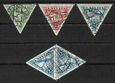 """Lettland """"Flugpost 1931 Mi.Nr 131-133"""" gest."""