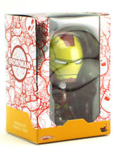 Hot Toys Cosbaby Iron Man Mark III Vinyl Figure Comic Color Version New In Box