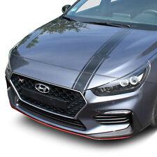 Capó Decoración Hyundai I30N Lámina Negro Brillo Pegatinas Tuning D020