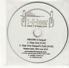 (GO382) Absorb vs Sequel, Step One - 2010 DJ CD
