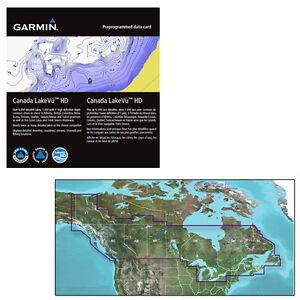 Garmin Canada LakeVu HD MicroSD/SD f/GPSMAP Series, Montana & Oregon Handhelds