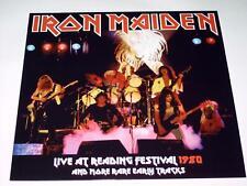 IRON MAIDEN - LIVE AT READING FESTIVAL 1980 - LP VINYL RARE CONCERT ALBUM G083