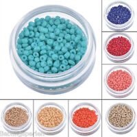 500 Rocailles Perlen Glasperlen Seed Beads Charms