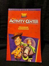 Disney's Toy Story Activity Center (Windows/Mac, 1996) PIXAR ~ PROGRAM HANDBOOK