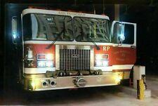 LED Bild Wandbild 65cm x 45cm Leuchtbild FEUERWEHR San Francisco fire Department