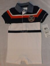 NEW boys POLO Ralph Lauren shorts romper outfit Size 6 months