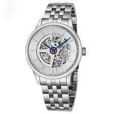 Perrelet Men's First Class Skeleton Dial Stainless Steel Automatic Watch A1091/4