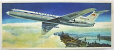 VEB Plasticart TU-154 Flugzeug-Modellbaukasten 1:100