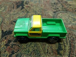 Vintage 1978 TONKA PICK-UP TRUCK Green Yellow 2-Door 4x4 Truck - MADE IN USA