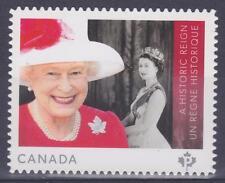 Canada 2015 #2859i A Historic Reign: Queen Elizabeth II - die cut Unused