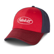 Peterbilt Motors Cap - Tri-Color structured Twill Trucker Hat