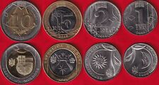 Moldova set of 4 coins: 1 - 10 lei 2018 UNC