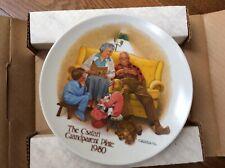 The Csata I Grandparent Plate.- The Edwin M Knowles China Co.