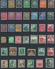 Lot Stamp Germany Saar WWII Hitler Train Hindenburg Mercedez Benz Wehrmacht U