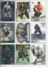 Lot of 100 Different Chris Pronger Hockey Card Collection Mint