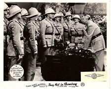 THEY MET IN BOMBAY ORIGINAL LOBBY CARD CLARK GABLE REGINALD OWEN 1941 RARE