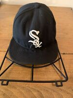 Chicago White Sox New Era 59Fifty 7 1/2 Hat Cap Black Authentic Collection