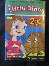 The Little Dinos Vol. 3 DVD (NEW) Stenonychosaurus & Terrevil's Affliction