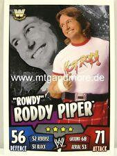 "Slam Attax Rumble - ""Rowdy"" Roddy Piper-Legends"