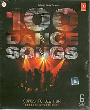 100 DANCE SONGS - SONGS TO DIE FOR COLLETORS EDITION 6CD SET - FREE UK POST