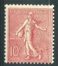 "FRANCE  N° 129  ""  SEMEUSE LIGNEE 10c ROSE 1903  ""   NEUF XX TB"