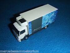 MERCEDES BENZ ATEGO Camión frigorífico gris 1:87 NUEVO Herpa