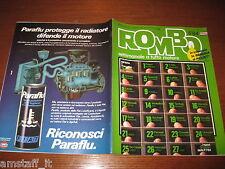 RIVISTA ROMBO 1984/5=RALLY MONTECARLO ROHRL AUDI=MERCEDES 190 D=PARIGI-DAKAR=