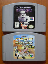 Star Wars Shadows of The Empire NTSC-U + Episode I: Racer NTSC-J Nintendo 64 N64