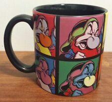 Disney Store Grumpy Multi Picture Coffee Mug Multi- Colored