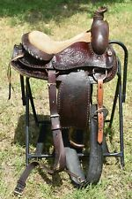 Complete Western Trail Riding Horse Saddle Work Cutting Barrel Racing Cow Ranch