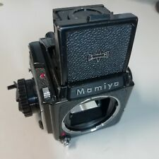 Mamiya M645 Medium Format Film Camera with waist level finder read inside
