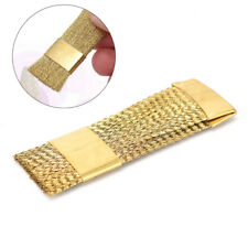 Nail drill bits cleaning brush golden copper wire cleaner brushes nail tools LU
