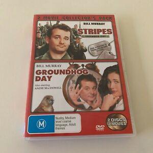Stripes / Groundhog Day - Bill Murray - DVD R4