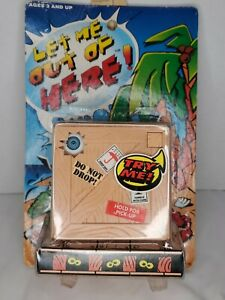 Let Me Out Of Here 1997 Sky Kids Electronic Talking Box Crate New Sealed