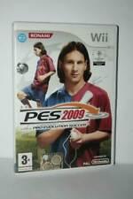 PES 2009 PRO EVOLUTION SOCCER 2009 GIOCO USATO NINTENDO Wii ED ITA PAL MG1 55294