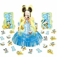 Amscan Mickey Mouse 1st Birthday Table Decorating Kit Centerpiece