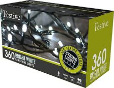360 White LED Lights With 8 Multifunction's Christmas Indoor - Outdoor 276
