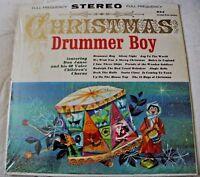 CHRISTMAS DRUMMER BOY VINYL LP ALBUM 1962 GRAND PRIX SERIES DON JANSE AND CHOIR