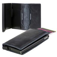 Tarjetero Secrid RFID Cardprotector Slimwallet cuero Vintage negro