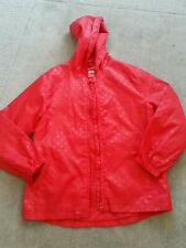 Girls Red Raincoat age 9-10yrs