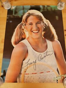 Tracy Austin 7up Full-Size 19x25in. Poster Original 1980 Tennis VINTAGE