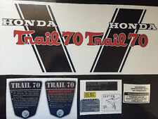 CT70H Trail CT70H KO frame decals, Complete Set